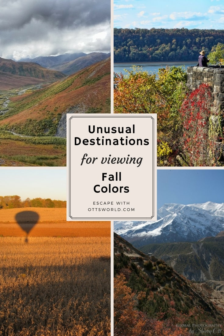 Instead of following all the tourists to the Northeast to view fall foliage, why not try these destinations and activities to get a dose of those Autumn colors!