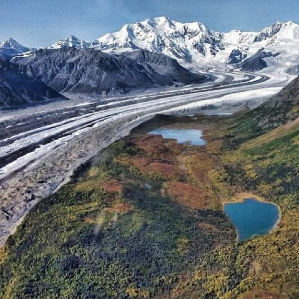 Alaska National Parks Glacier