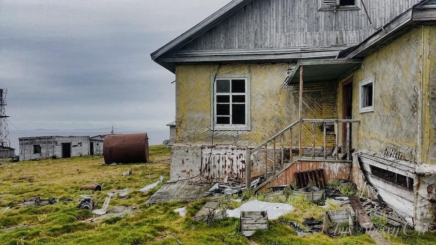 Kolyuchin Island Abandoned