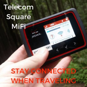 connected while traveling mifi