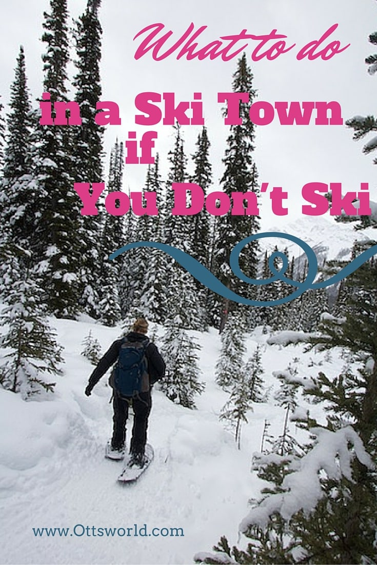 What to do in a ski town if you don't ski? Caves, bikes, dogs, and ice - I didn't have to look far to find things to do in Banff in winter that didn't include downhill skiing!