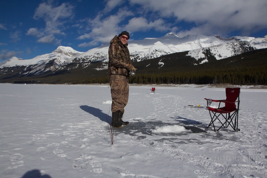 Banff Ice fishing guide