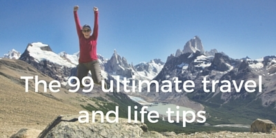 The 99 ultimate travel and live tips sidebar