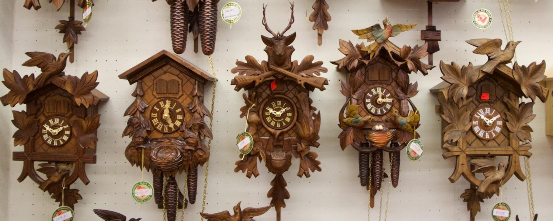 hubrt herr cuckoo clock showroom