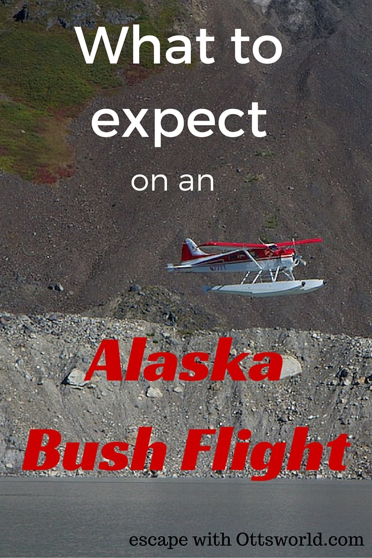 What to Expect on Alaska Bush Flights See Alaska from above in all of it's natural glory.  To really see Alaska you need to gain some altitude.