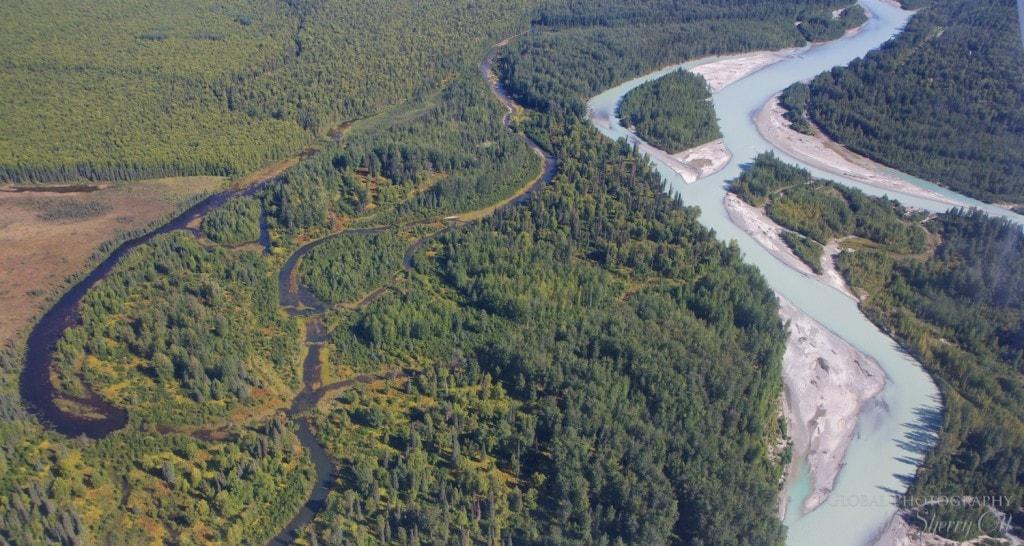 Alaska from above talkeetna