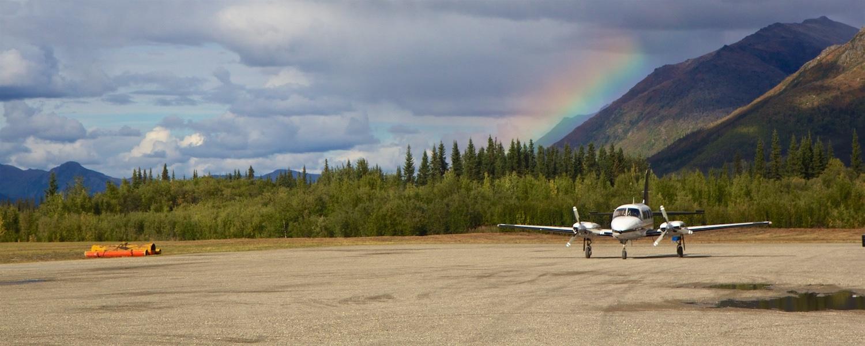 alaska bush flights cold foot