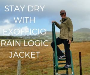 EXOFFICIO RAIN LOGIC JACKET