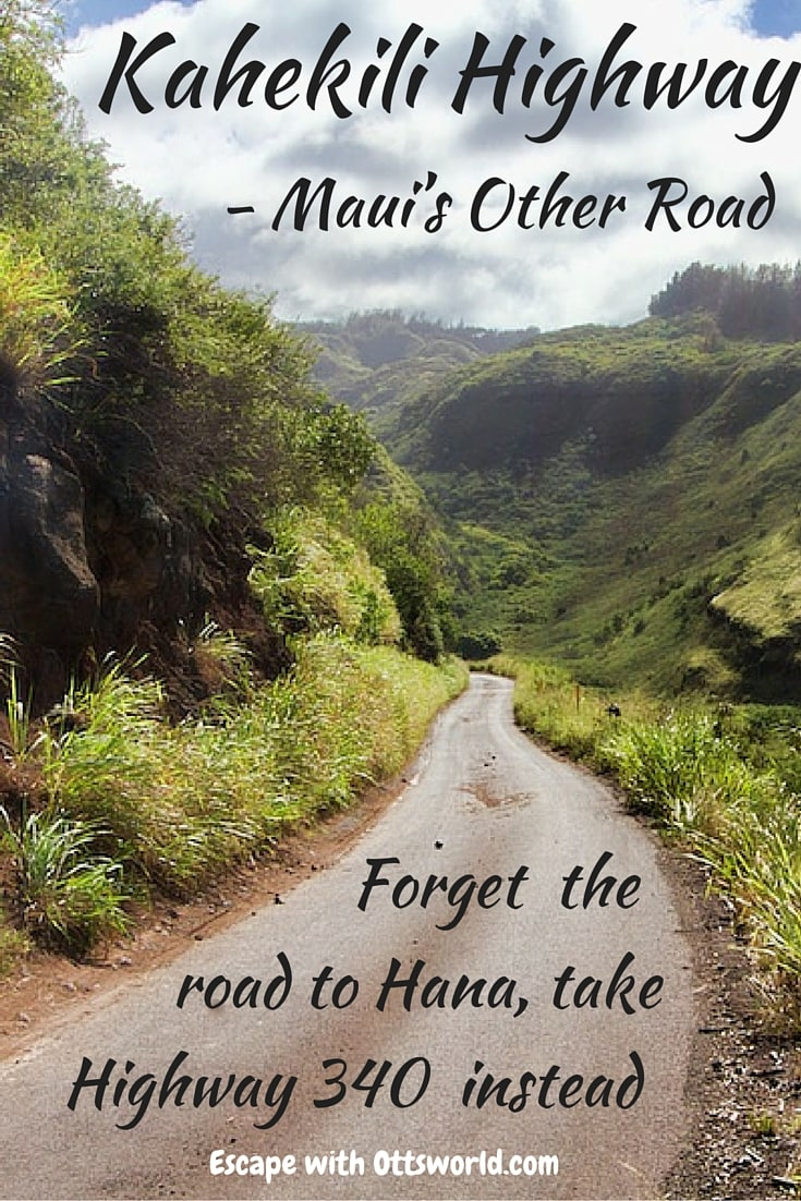 The Kahekili Highway lives in the shadow of the Road to Hana on Hawaii's Maui. But, if you want a driving adrenaline rush, then take this less traveled route.