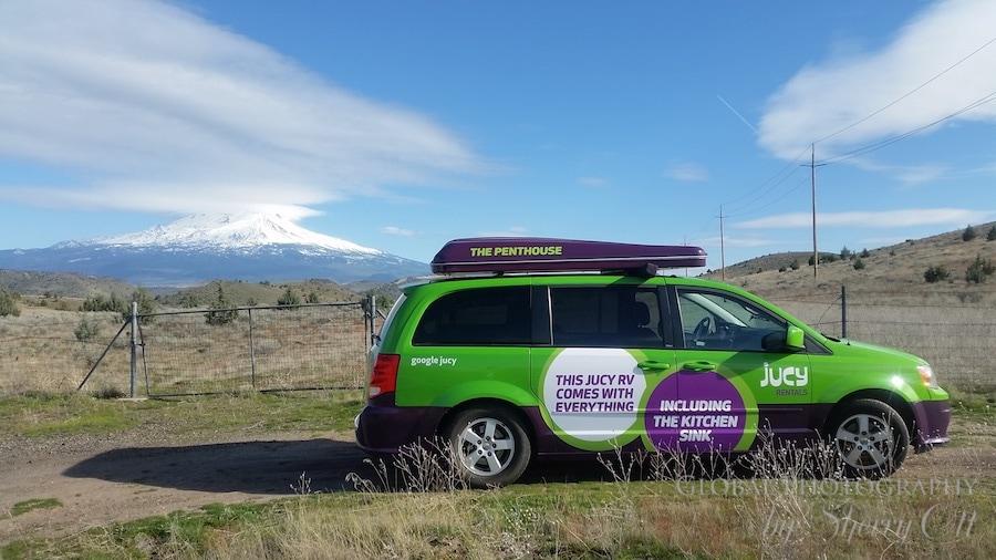Mt Shasta road trip