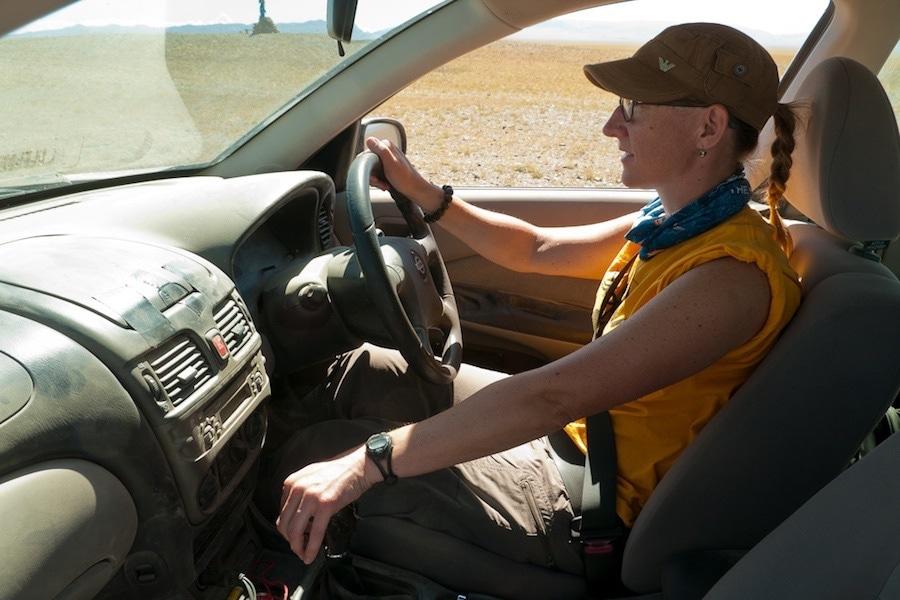 driving solo mongolia