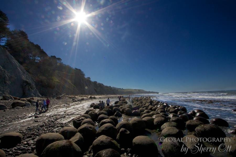 Bowling Ball Beach northern california