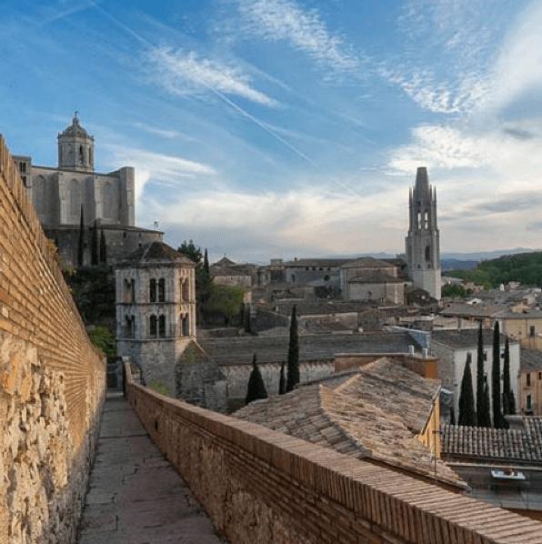 Medieval Town Costa brava