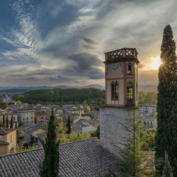 Girona sunset