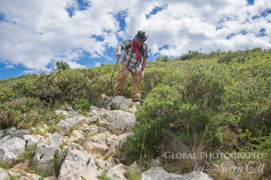 hiking with my dad costa brava