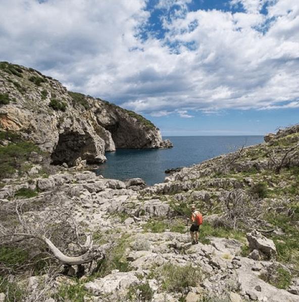 cami de ronda hiking trail