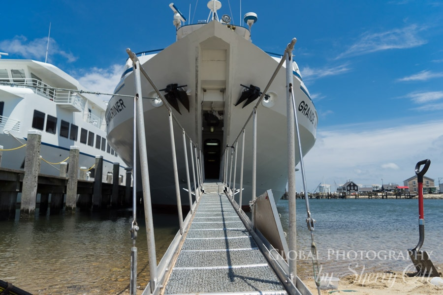 Blount Ship bow ramp