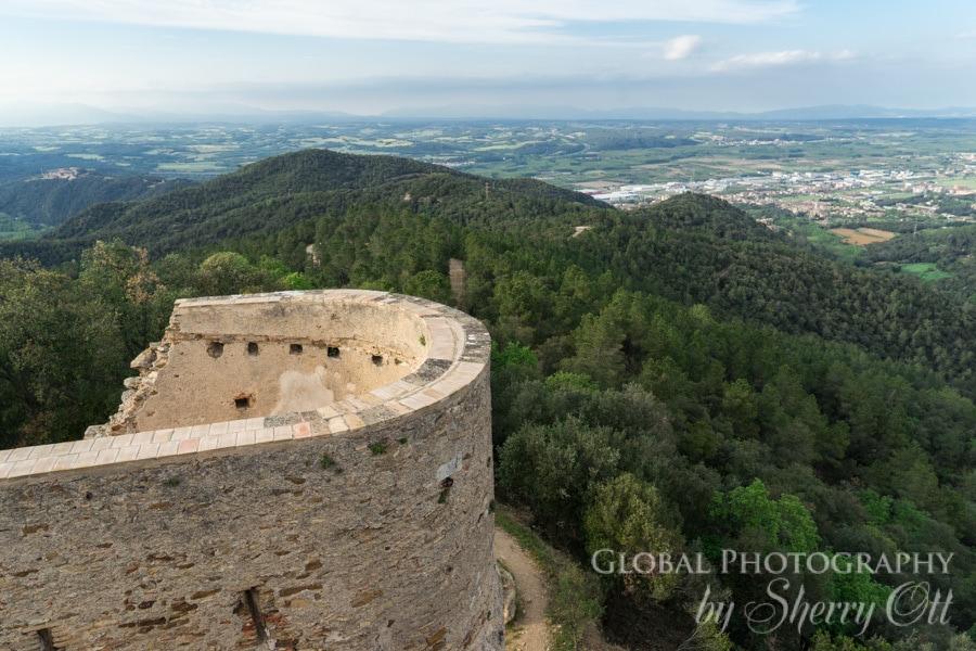 sant Miquel castle girona
