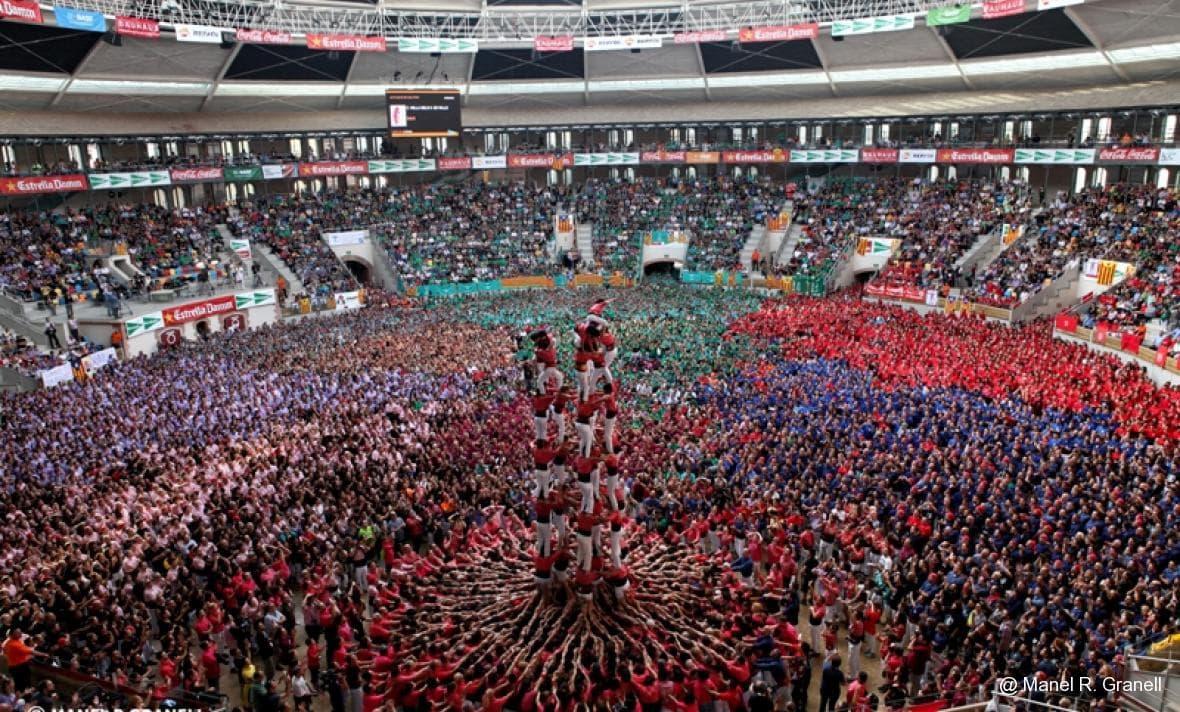 human tower festival Tarragona
