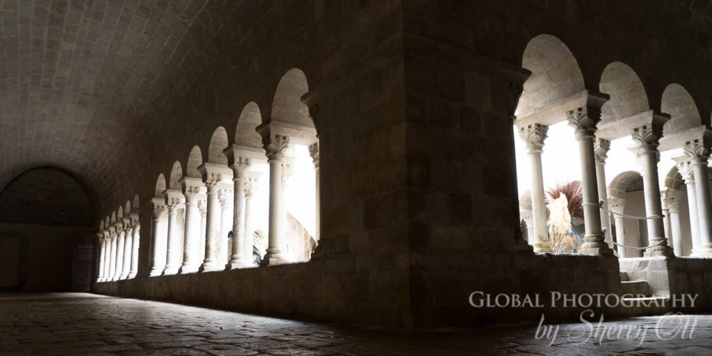 sant daniel monastery cloisters girona