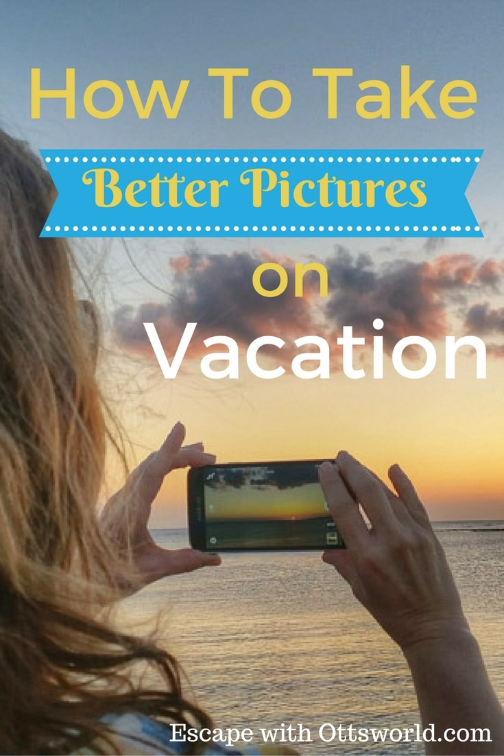 How to Take Better Vacation Pictures It doesn't matter what camera you use, if you follow these simple composition rules for your next vacation you'll come back with pictures you are proud to share.