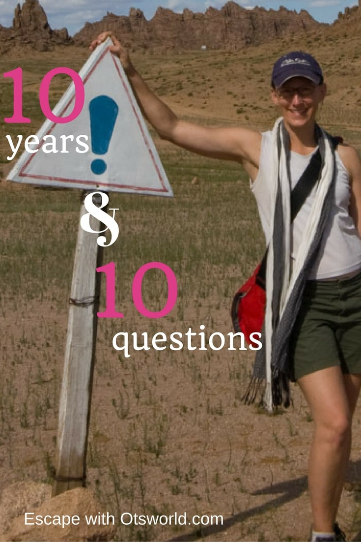 10 Questions on 10 Years of Travel Answering your popular questions about living out of a suitcase for 10 years.