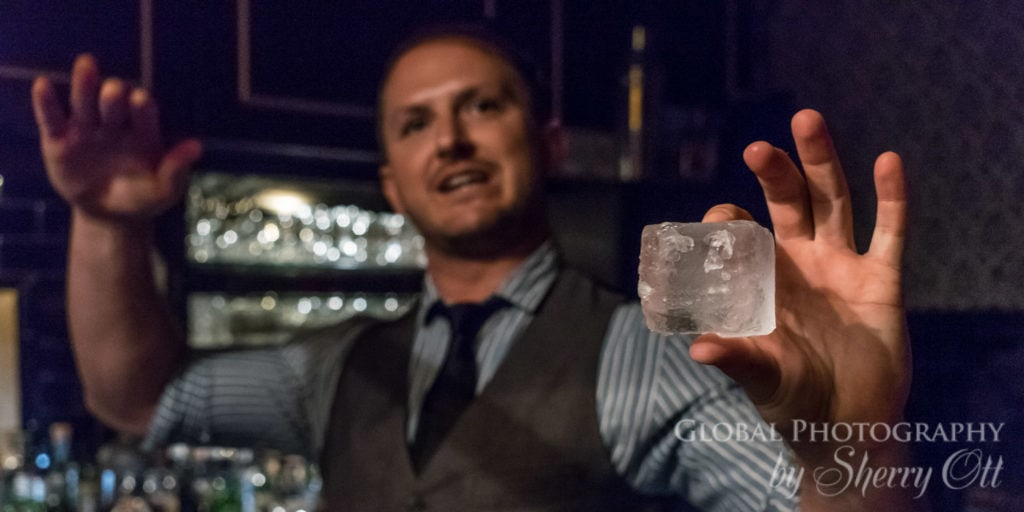 Cocktail ice and history