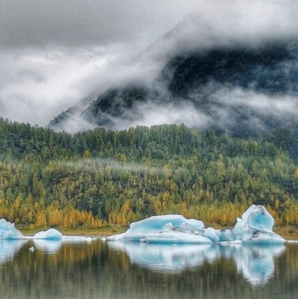 Alaska Wilderness spencer glacier