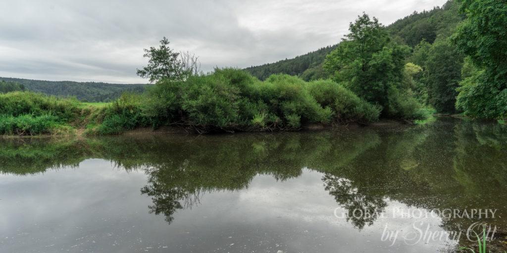 Danube river sinkhole