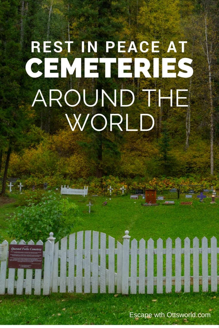 It's heereeee…..it's that time of year where I go dark into the depths of the after life, to wander in cemeteries around the world.