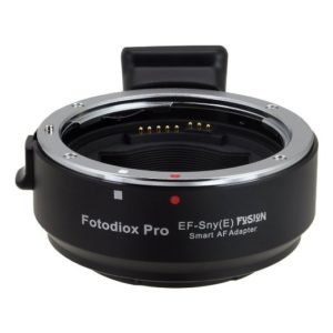Photography gear lens adapter
