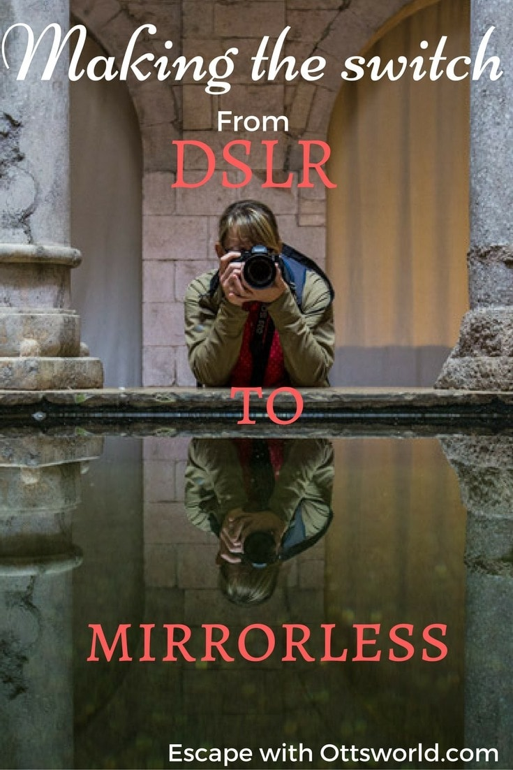 Why I changed to Mirrorless Making the switch from DSLR to Mirrorless is not without it's bumps, bruises, and costs.  But is it worth it?