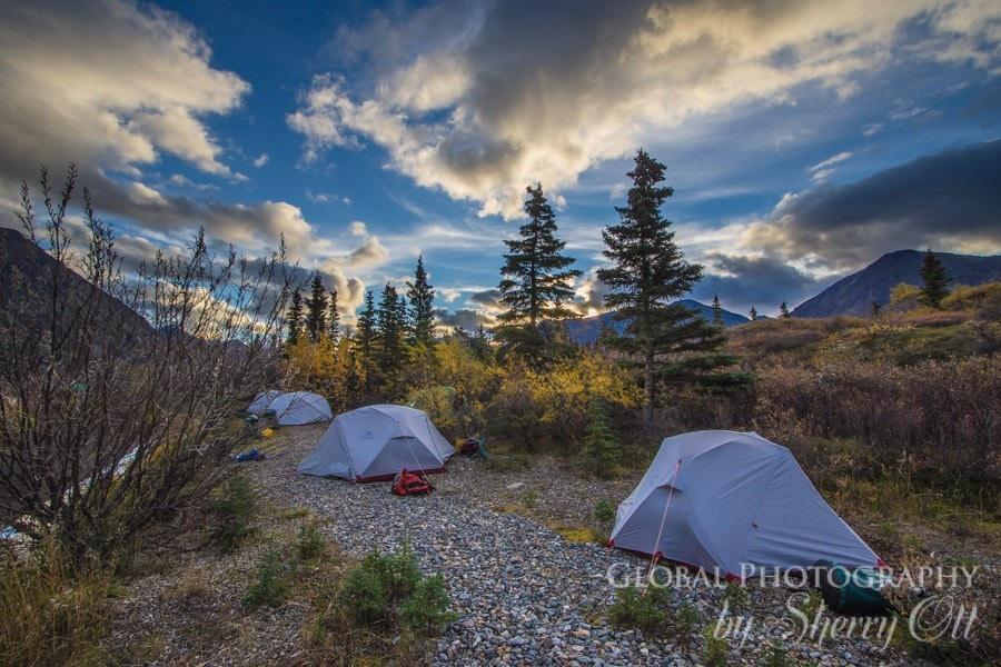 Camping Lake clark National Park