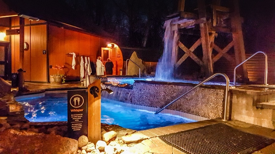 Nordic spa cold pool