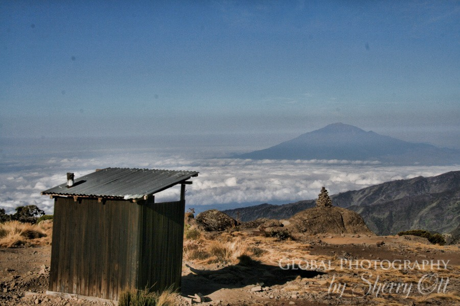 kilimanjaro toilets