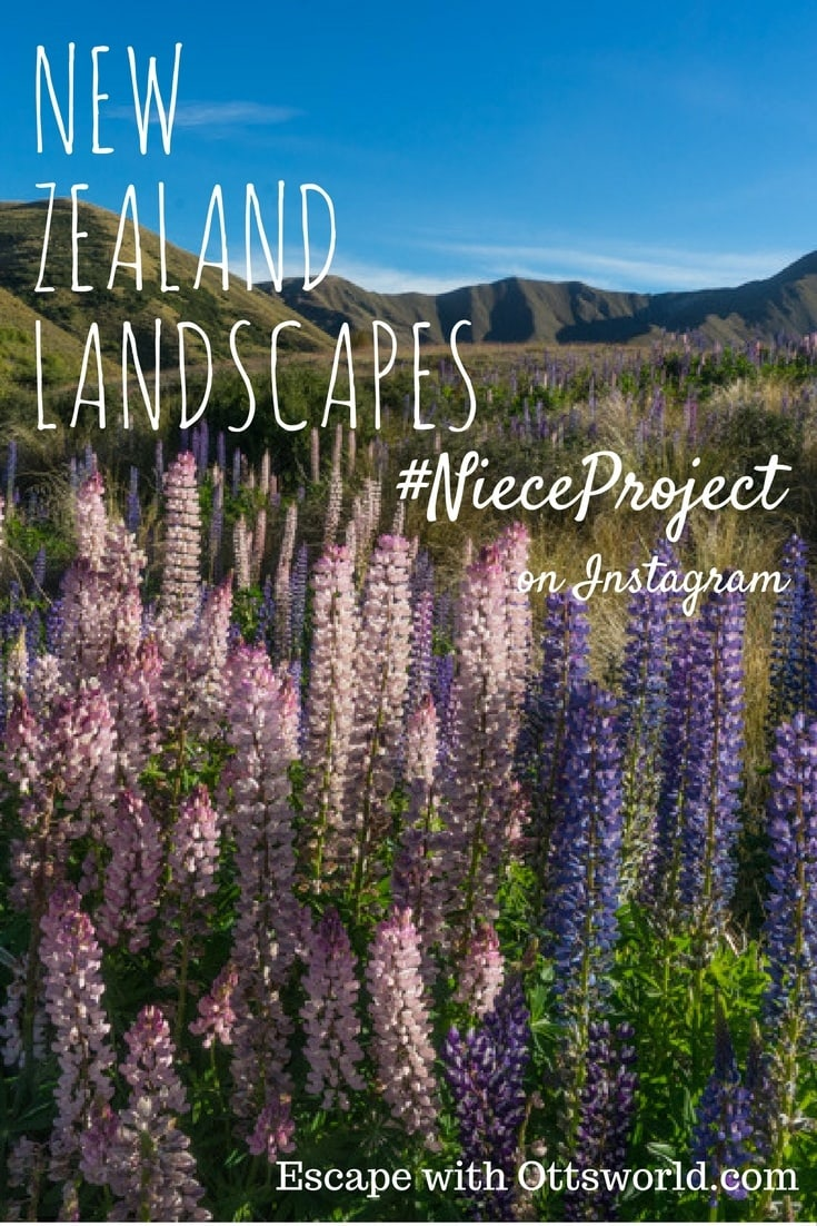 Everywhere you look are breathtaking New Zealand landscapes, here area a few from my recent #NieceProject trip.