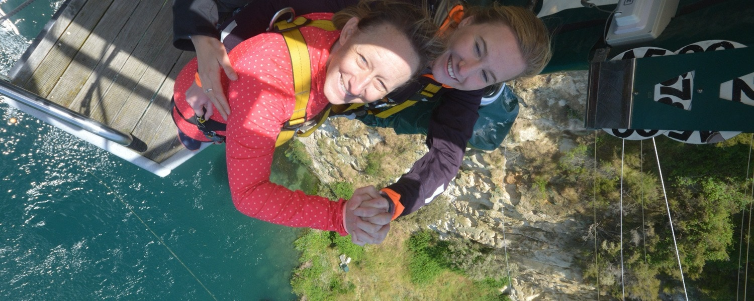 taupo bungee jump new zealand