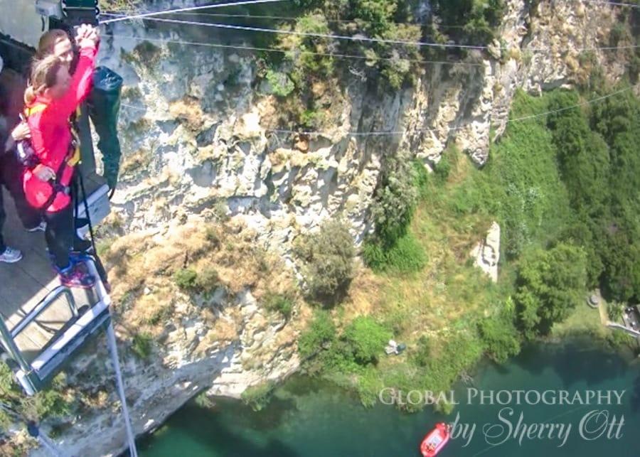 tandom bungee jump