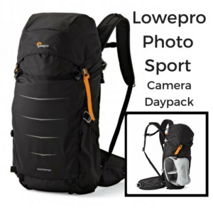 photography daypack for hiking