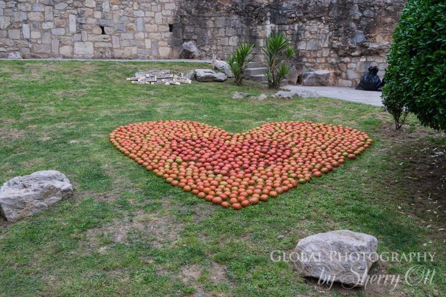 Flower Festival Girona love