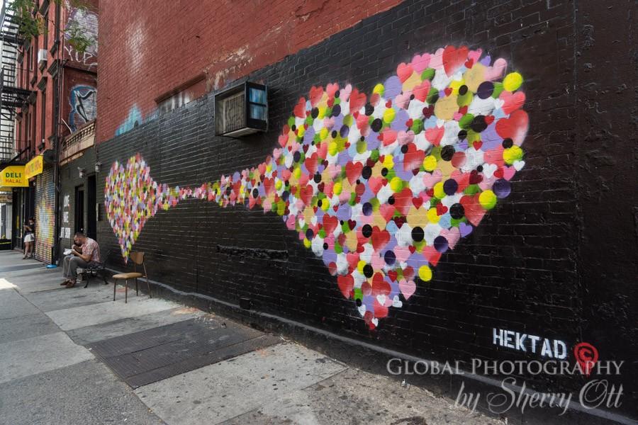 NYC love street art