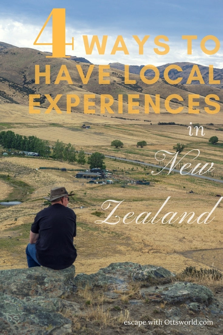 Travel deeper and have more meaningful New Zealand local experiences. These ideas take you off the tourist trail & introduces you to local culture & people!