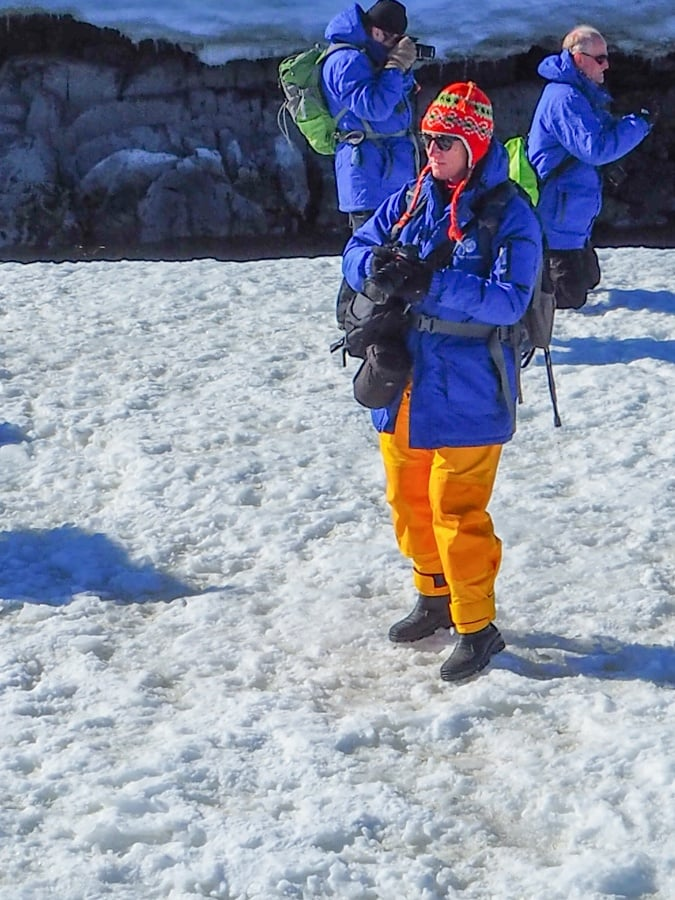 what to wear in antarctica