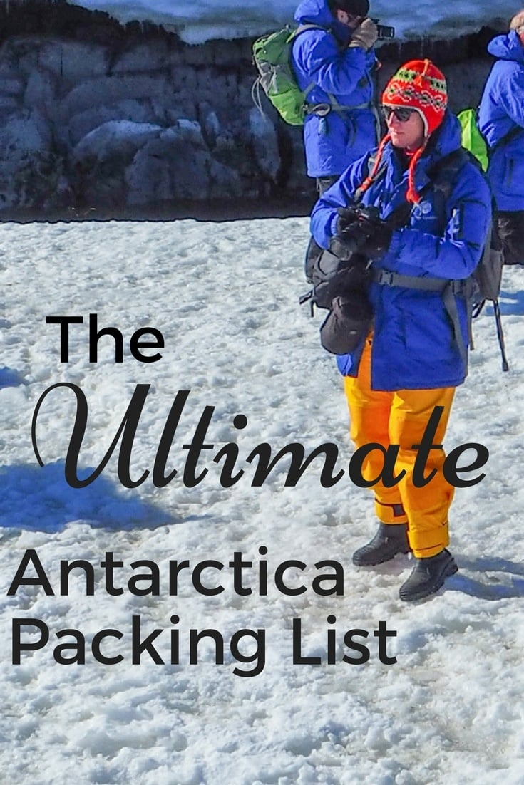 The Ultimate Antarctica Packing List It's not simply about packing warm clothes! I'll give you tips on essential items you'll want to bring with you to Antarctica - including dishwashing gloves...