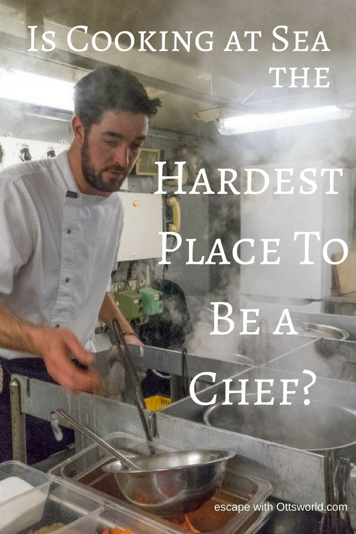 Is cooking at sea the hardest place to be a chef? Come with me into the galley of a small expedition ship in Antarctica to understand the challenges of cooking at sea. This is one Rock 'n Roll kitchen!