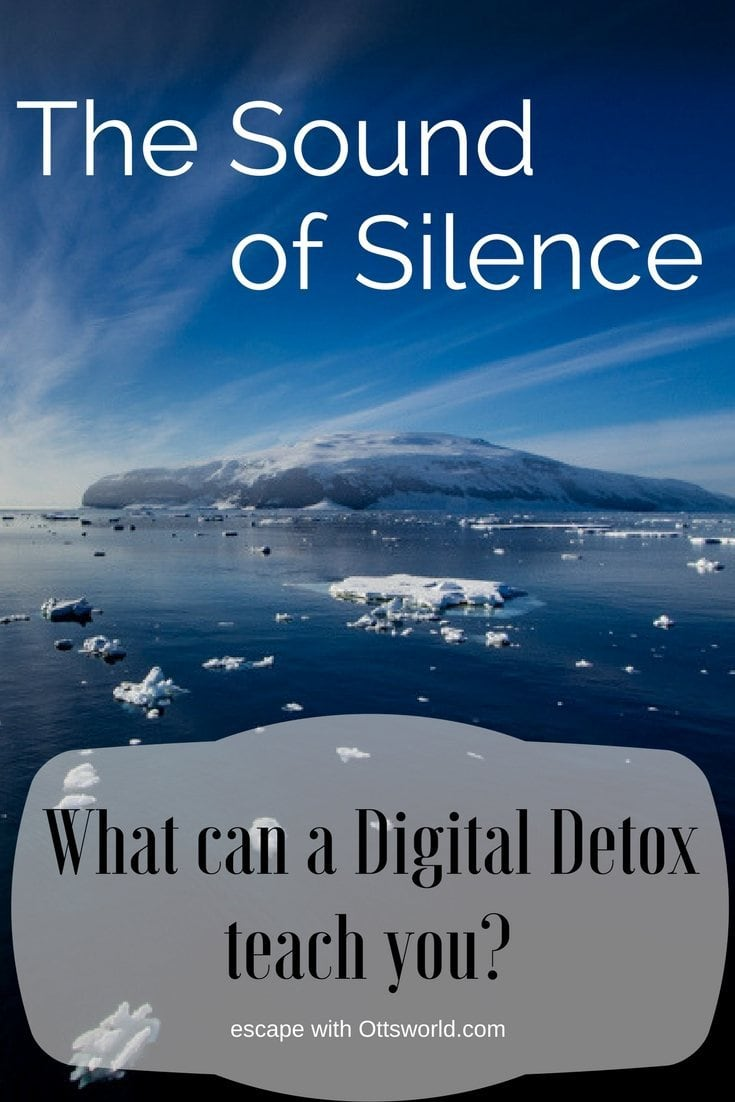 The Sound of Silence How does one handle a digital detox vacation in the middle of the Southern Ocean and Ross Sea?