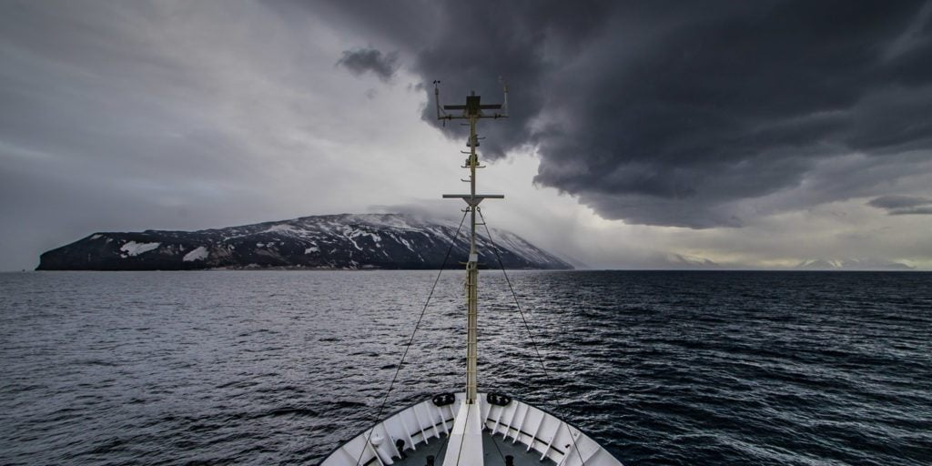 Ross Sea Storms - a real thrill on a trip to Antarctica