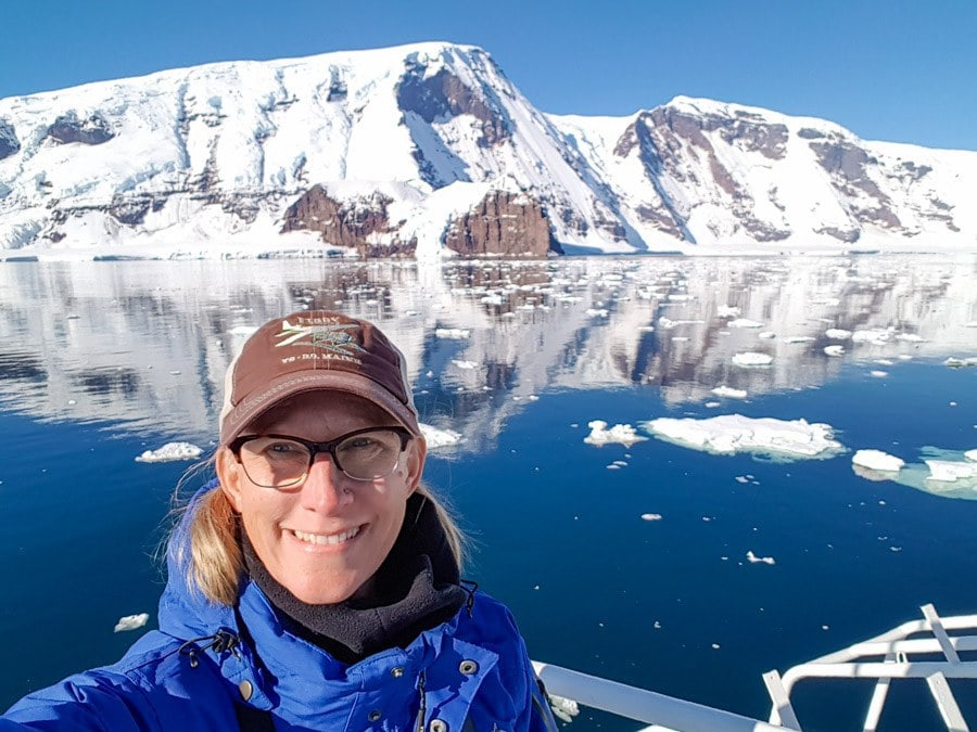 Coulman Island in the Ross Sea - a stop on the cruise to Antarctica