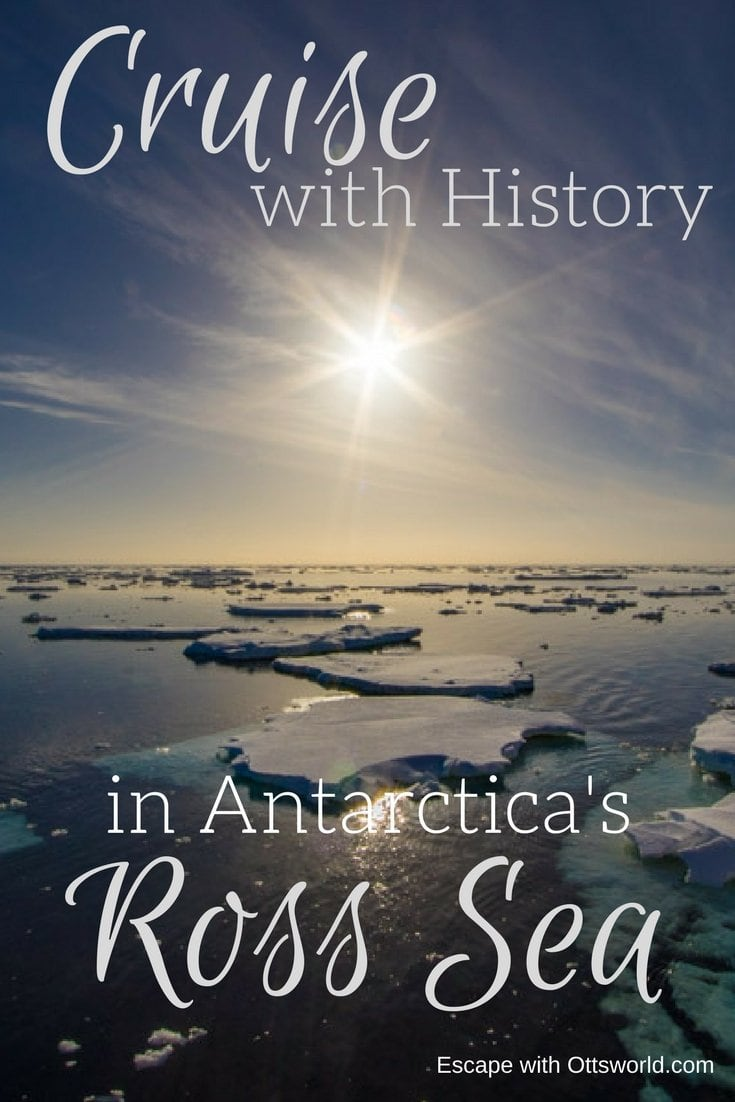 Cruise with History in the Ross Sea If you want to get a feel for the explorers of old and what they went through, then head to the Ross Sea Antarctica.  Here's what you'll see...