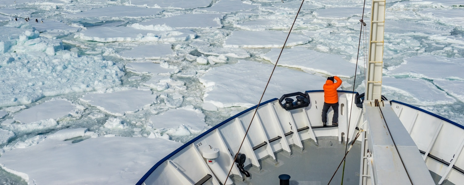 crusing to eastern antarctica